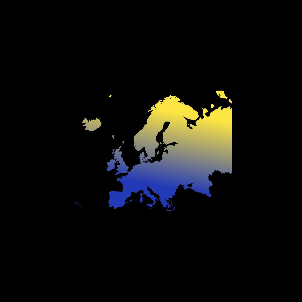 Illustration du contient européen. Eu Coordination agence de traduction de documents dans les langues européennes.