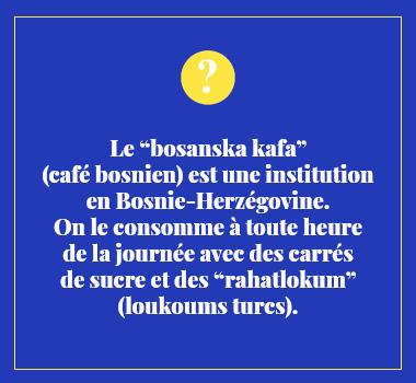 Illustration le saviez-vous en Bosnien. Eu Coordination agence de traduction de/vers le Bosnien.