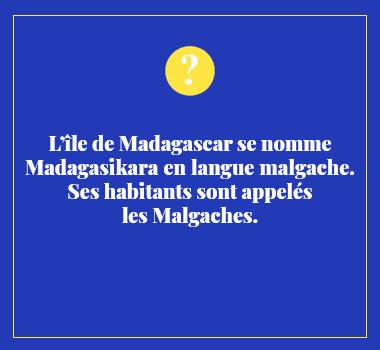 Illustration le saviez-vous en Malgache. Eu Coordination agence de traduction de/vers le Malgache.