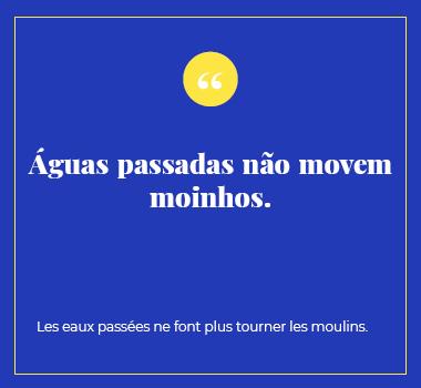 Illustration proverbe en Portugais. Eu Coordination agence de traduction de/vers le Portugais.